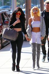 Kylie Jenner and Pia Mia Perez out in West Hollywood, May 2015