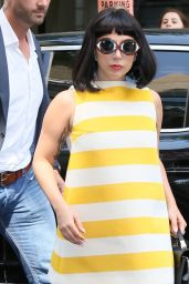Lady Gaga - Arriving at a Hotel in New York City, May 2015