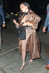 Lady Gaga Night Out Style - New York City, May 2015