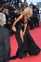 Lady Victoria Hervey on Red Carpet at 2015 Cannes Film Festival