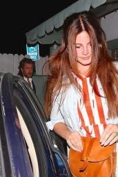 Lana Del Rey - Leaving Giorgio Baldi in Santa Monica, April 2015