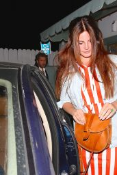 Lana Del Rey - Leaving Giorgio Baldi in Santa Monica, April 2015