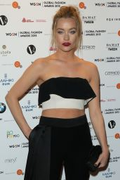 Laura Whitmore – WGSN Global Fashion Awards in London, May 2015