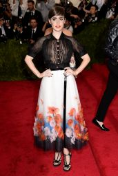 Lily Collins – Costume Institute Benefit Gala in New York City, May 2015