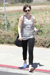 Lily Collins - Out in Los Angeles, May 2015