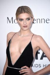 Lily Donaldson – 2015 amfAR Cinema Against AIDS Gala in Antibes (France)