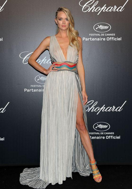 Lindsay Ellingson – Soiree Chopard 'Gold Party' – 2015 Cannes Film Festival