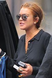 Lindsay Lohan - Out in New York, May 2015