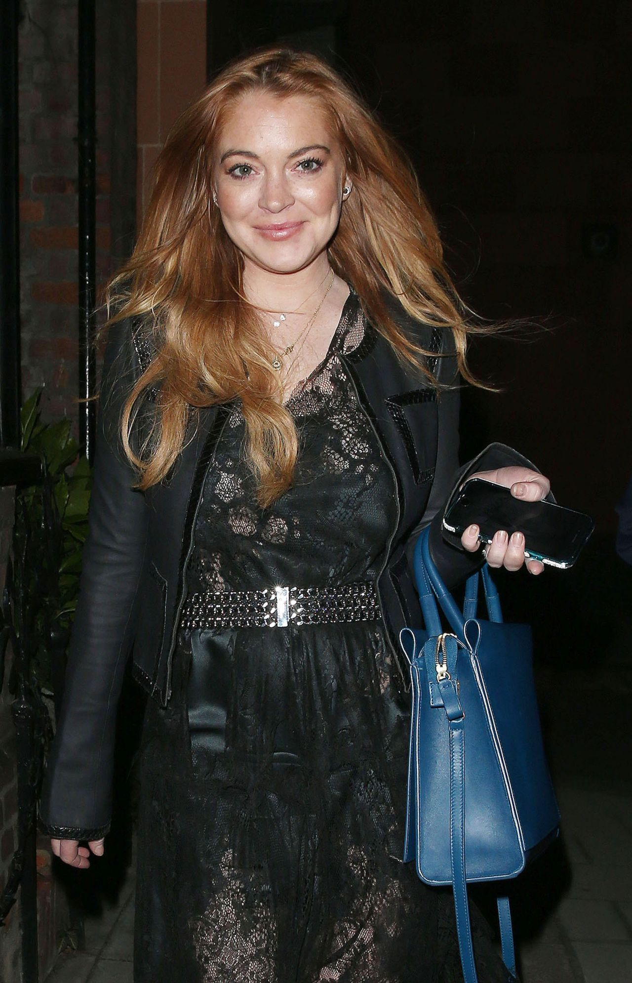 Lindsay Lohan Style – Out in London, May 2015