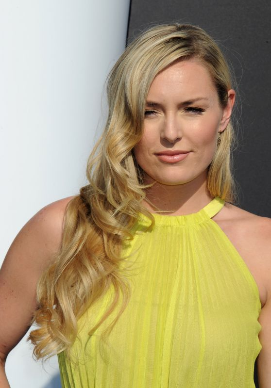 Lindsey Vonn Tomorrowland Premiere In Anaheim