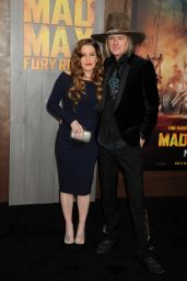 Lisa Marie Presley - Mad Max: Fury Road Premiere in Los Angeles
