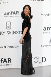 Liu Wen – 2015 amfAR Cinema Against AIDS Gala in Antibes (France)