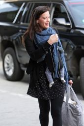Liv Tyler - JFK Airport in New York City, May 2015