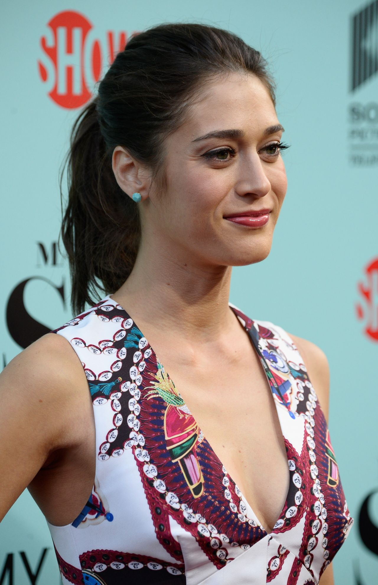 Lizzy Caplan Masters Of Sex Movie Screening In Culver City