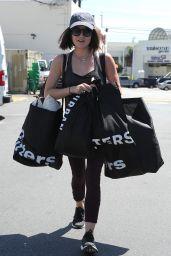 Lucy Hale - Out in LA, April 2015
