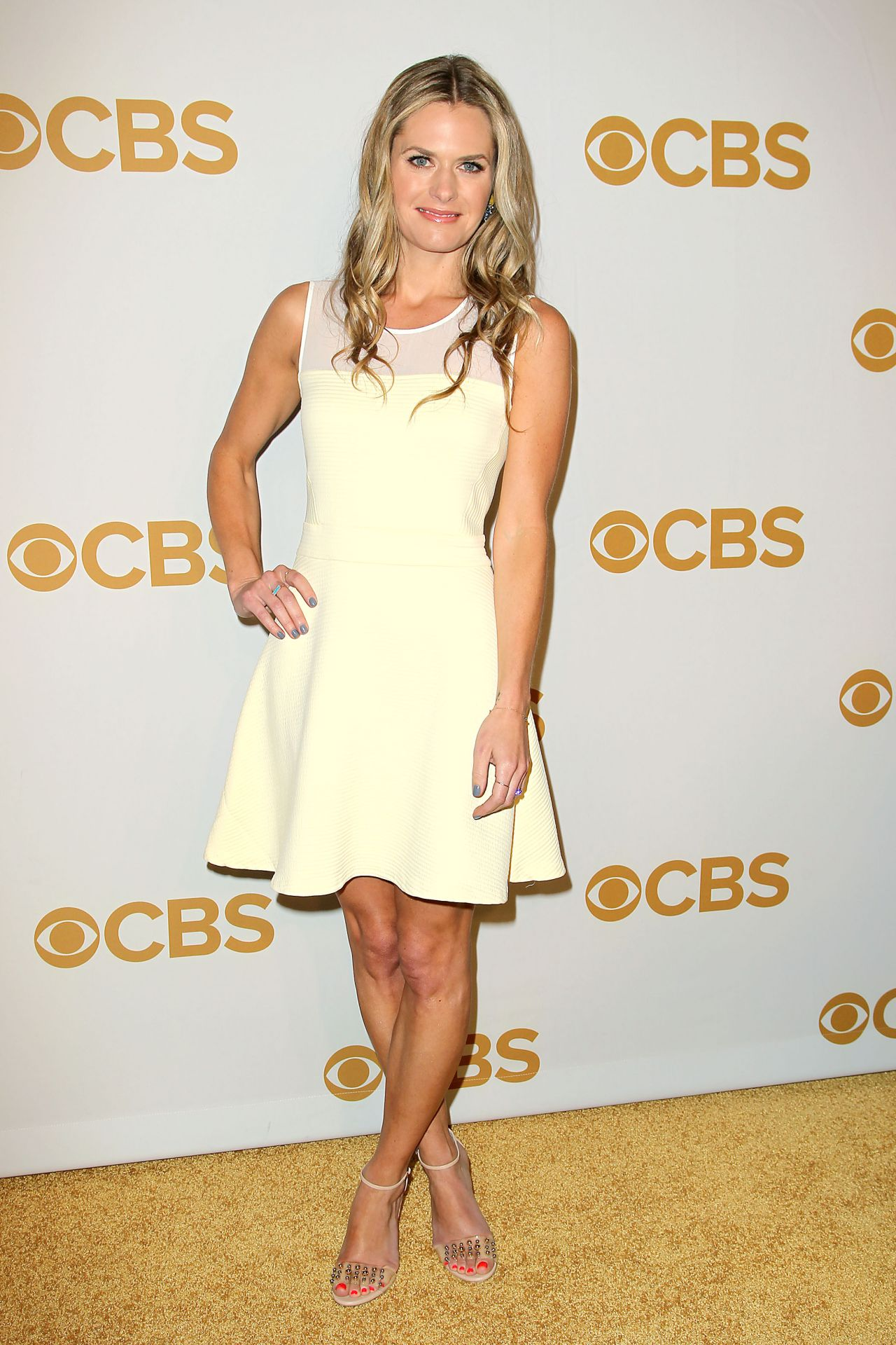 Maggie Lawson 2015 Cbs Upfront At The Tent At Lincoln