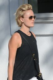Malin Akerman - Shopping at Splendid in Beverly Hills, April 2015