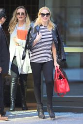 Margot Robbie in TIghts - Out in New York City, May 2015