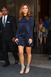 Maria Menounos - Leaving the Trump Soho Hotel in New York City, May 2015