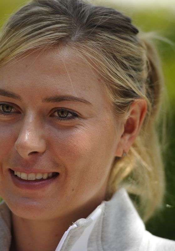 Maria Sharapova – 2015 French Open Media Day at Roland Garros