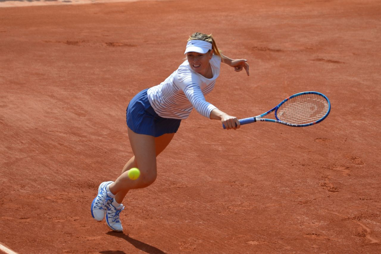 Maria Sharapova – 2015 French Tennis Open at Roland Garros ...