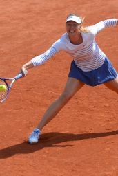 Maria Sharapova – 2015 French Tennis Open at Roland Garros in Paris – 2nd Round