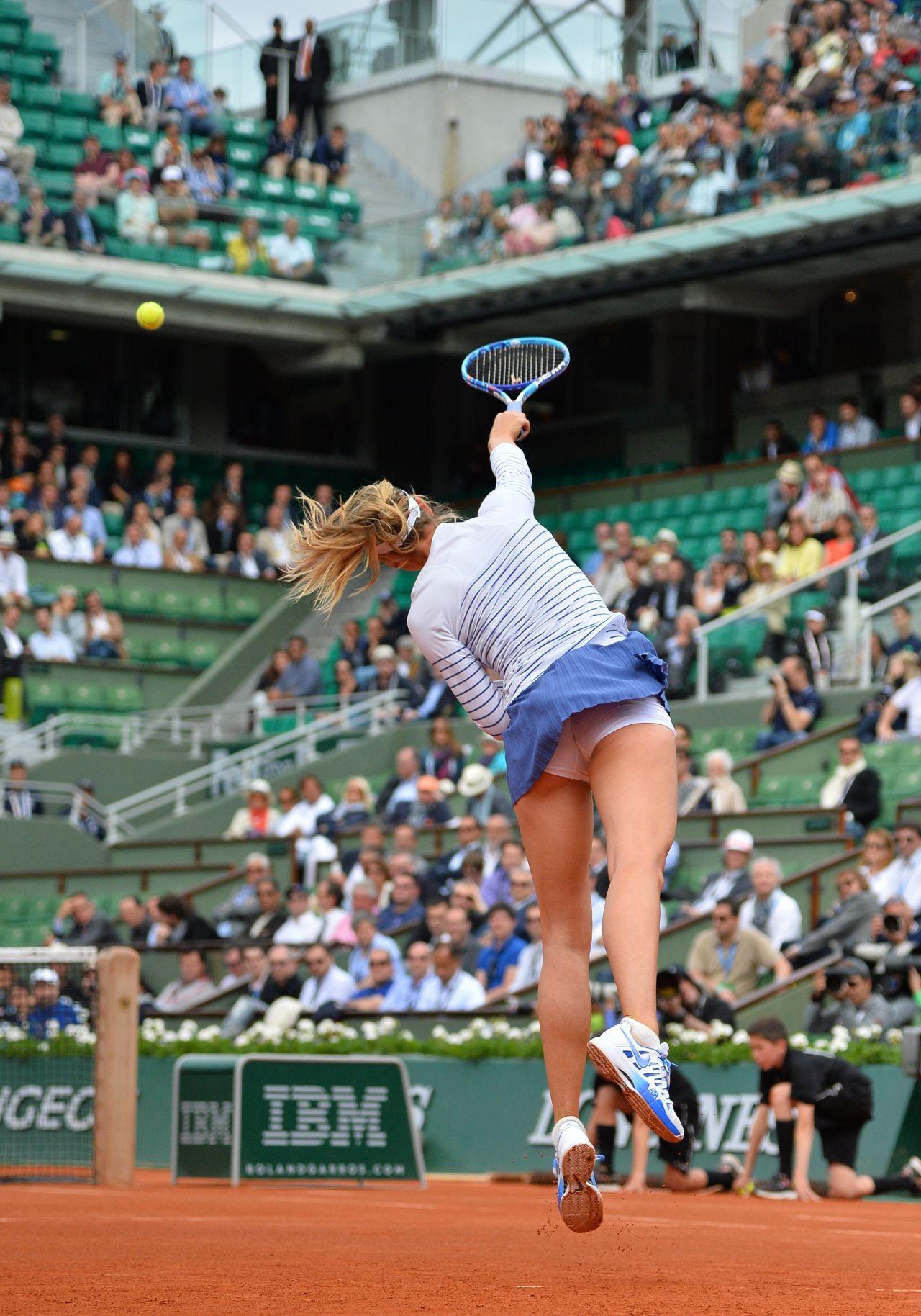 Maria Sharapova 2015 French Tennis Open At Roland Garros