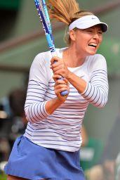 Maria Sharapova – 2015 French Tennis Open at Roland Garros in Paris – 3rd Round