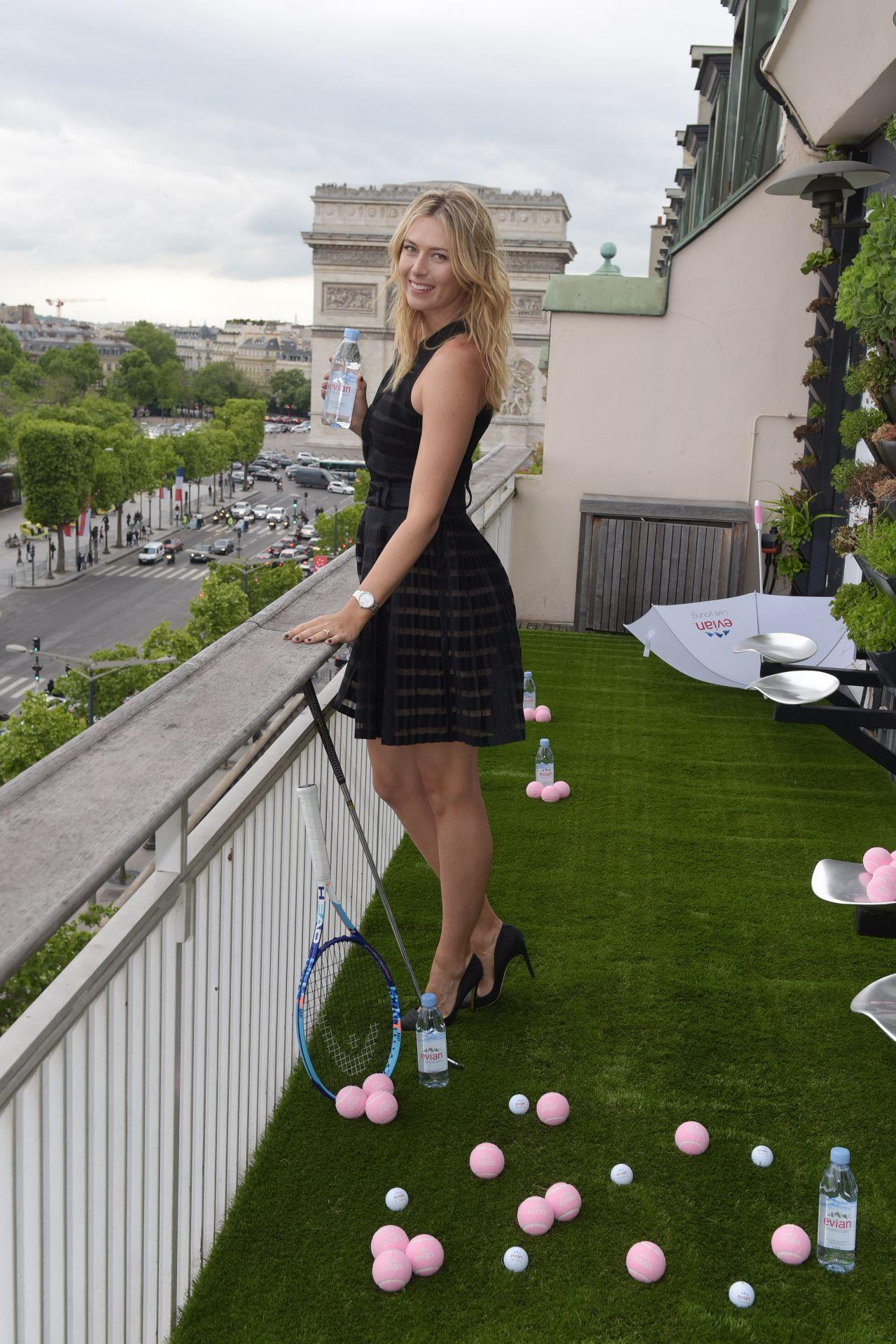 Maria Sharapova Evian Sport Season At Maison Du Danemark