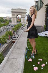 Maria Sharapova - Evian Sport Season at Maison du Danemark in Paris - May 2015