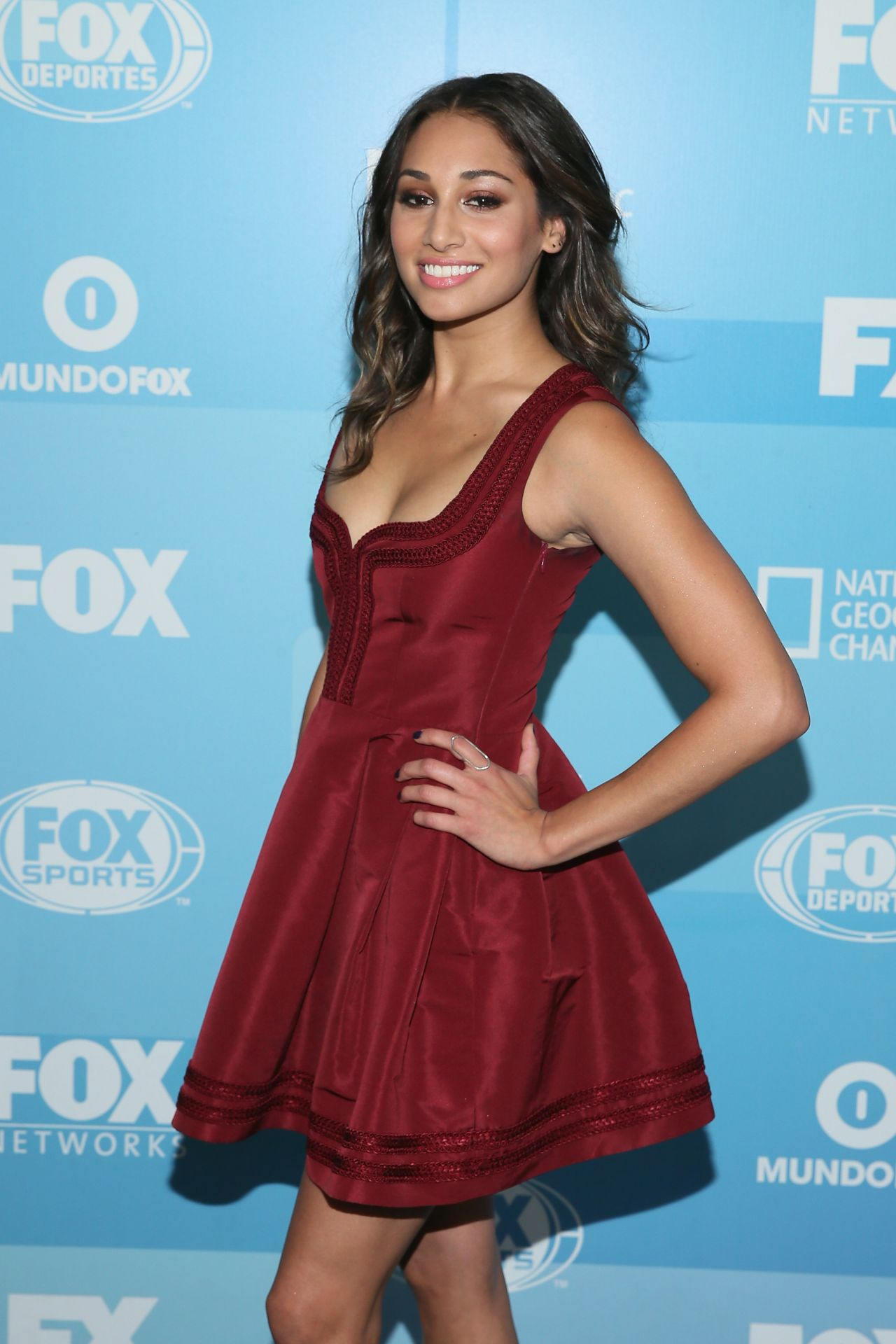 Meaghan Rath Fox Network 2015 Programming Upfront In New