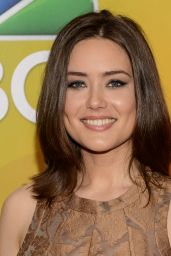 Megan Boone – 2015 NBC Upfront Presentation, Radio City Music Hall, New York