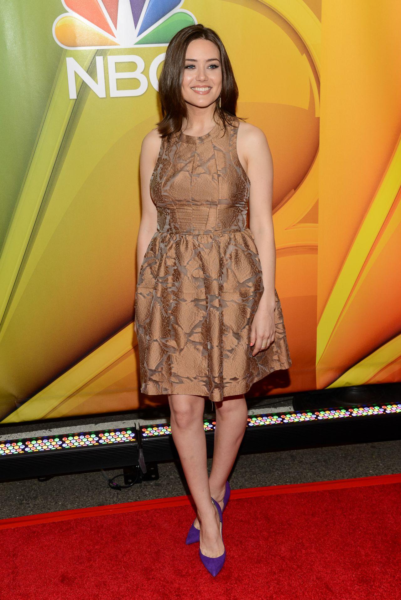 Megan Boone 2015 Nbc Upfront Presentation Radio City