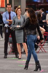 Megan Fox – Teenage Mutant Ninja Turtles 2 - More Set Photos From New York City, May 2015