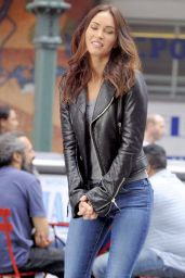 Megan Fox - Teenage Mutant Ninja Turtles 2 Set Photos - New York City, May 2015