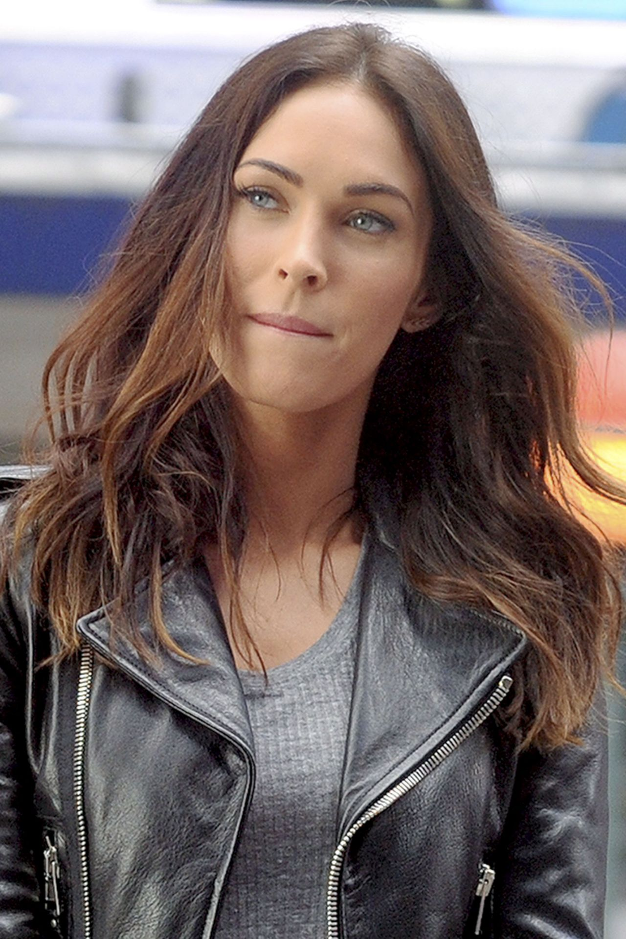Megan Fox Teenage Mutant Ninja Turtles 2 Set Photos