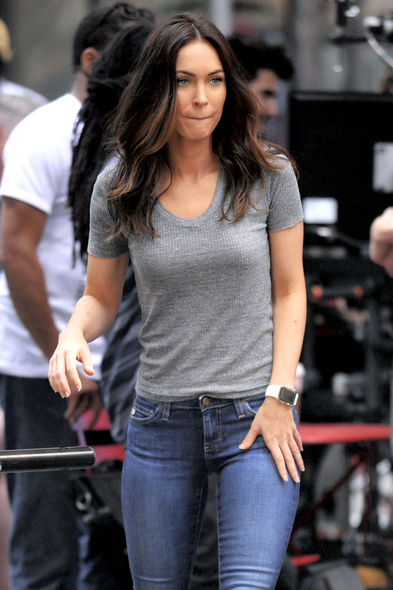 Megan Fox - Teenage Mutant Ninja Turtles 2 Set Photos ... Megan Fox
