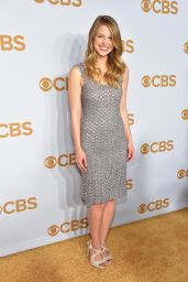 Melissa Benoist - 2015 CBS Upfront in New York City