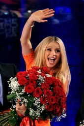 Michelle Hunziker - Appearing on the Italian TV Show