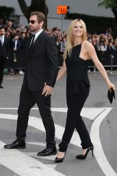 Michelle Hunziker & Tomaso Trussardi - Arrives at the