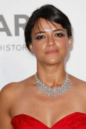 Michelle Rodriguez – 2015 amfAR Cinema Against AIDS Gala in Antibes (France)