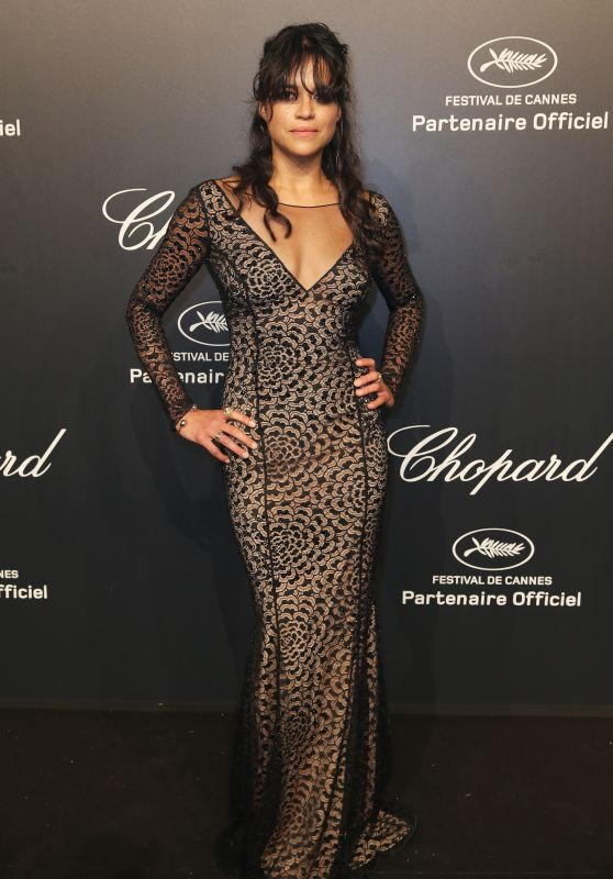 Michelle Rodriguez – Soiree Chopard 'Gold Party' – 2015 Cannes Film Festival