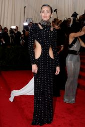 Miley Cyrus – 2015 Costume Institute Benefit Gala in New York City