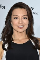 Ming-Na Wen- Disney Media Distribution 2015 International Upfront in Burbank