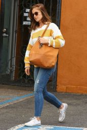 Minka Kelly Booty in Jeans - Out in West Hollywood, May 2015