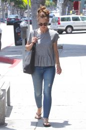 Minka Kelly - Out in Brentwood, May 2015