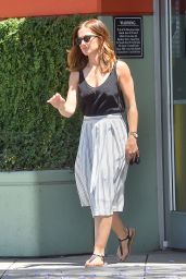 Minka Kelly - Out in West Hollywood, April 2015