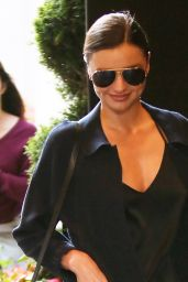Miranda Kerr - Arriving at Her Hotel in New York City, May 2015