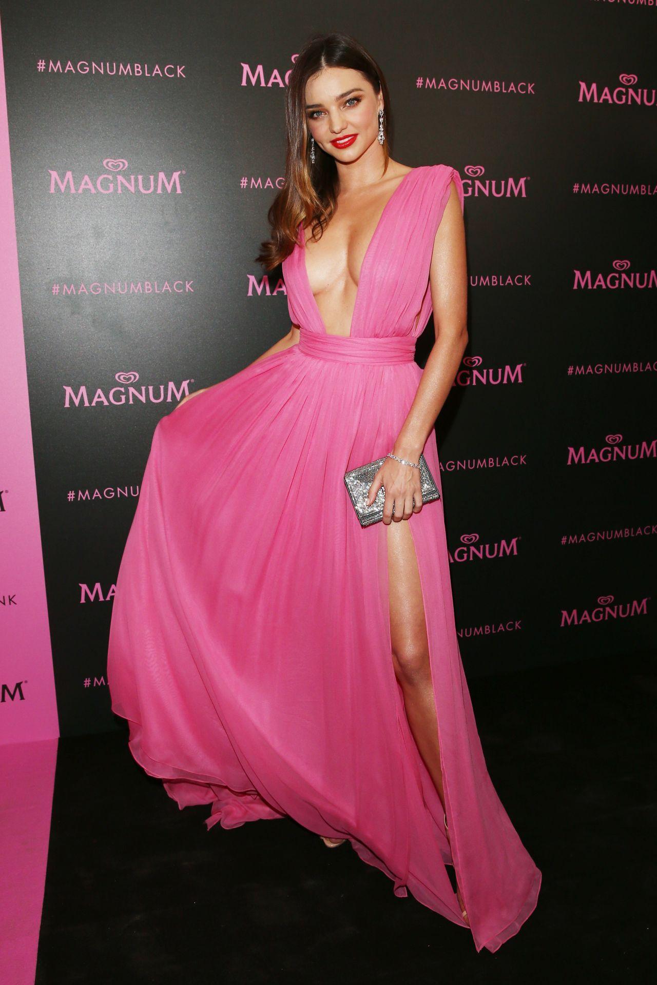 Miranda Kerr - Magnum Pink and Black Launch at Magnum ... миранда керр