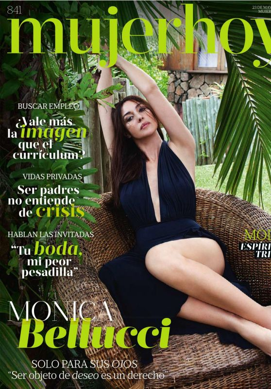 Monica Bellucci - Mujer Hoy Magazine (Spain) May 2015 Issue